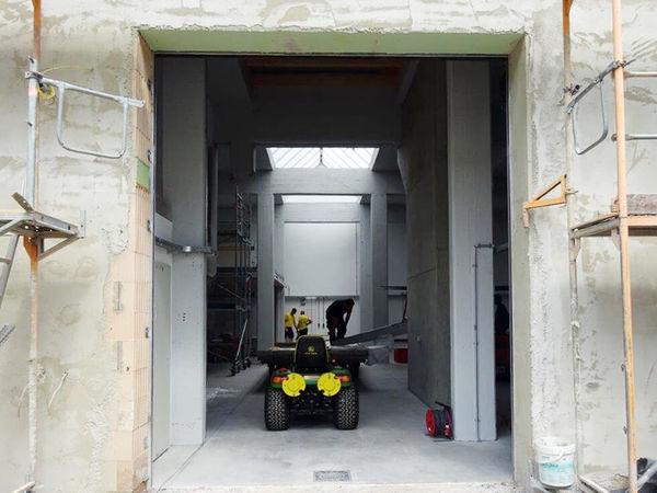 RAMIE AUTO ATELIER Bauphase